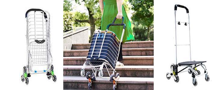 Carritos de la compra para subir escaleras