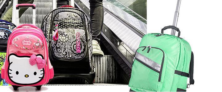 Carritos para mochilas escolares