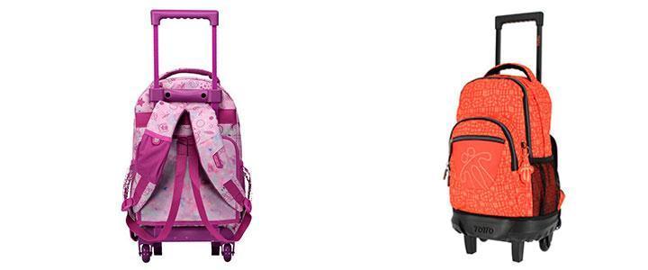 Carro mochila Totto barato para niñas y niños