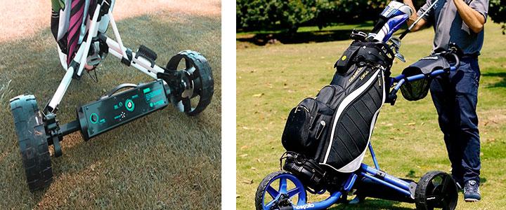 Carros de golf eléctricos con batería de litio y teledirigidos