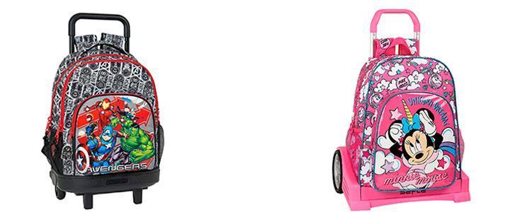 Carros mochila con ruedas Safta