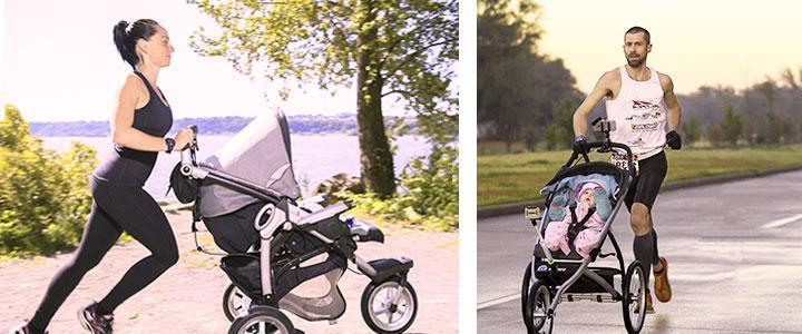 Carros para correr con bebés